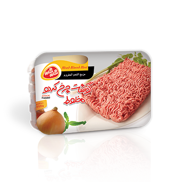 Mix minced meat
